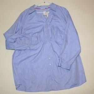 Avenue button down womens shirt size 30 / 32 Plus